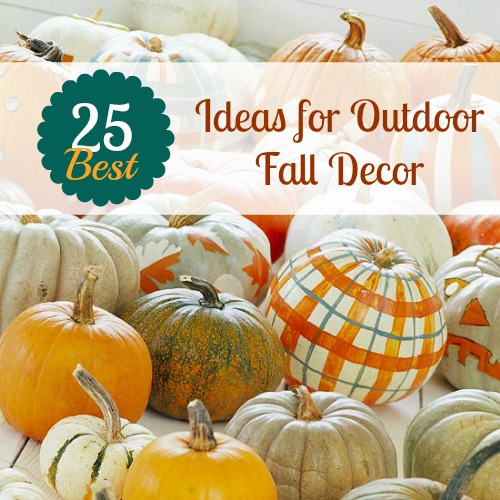 remodelaholic 25 best ideas for outdoor fall decor - Outside Fall Decorations