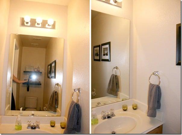 Fresh before bathroom plank wall tutorial
