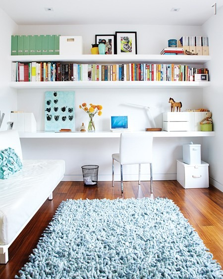 Bright Office Crafting Space. Craft Room Design Ideas ...