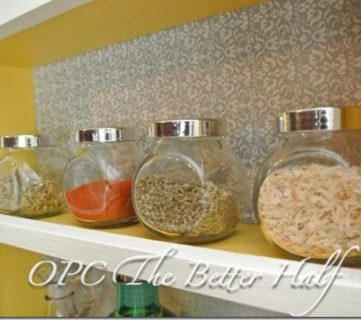 Custom Built Spice Rack