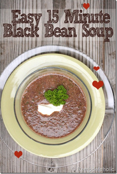15 minute black bean soup recipe3 copy