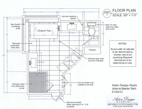 New As you saw on the floor plan