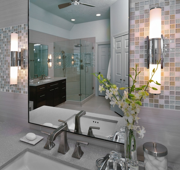 Remodelaholic amazing master bath remodel for Amazing bathroom remodels