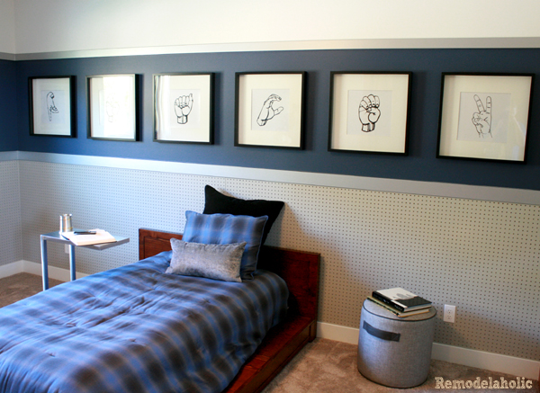 now - Boys Bedroom Design