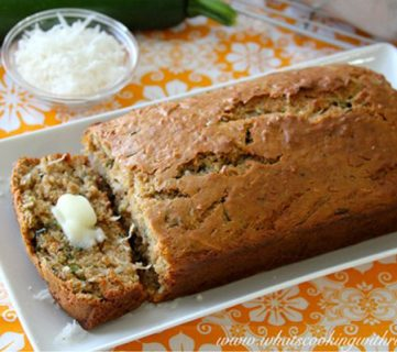 Coconut Yogurt Zucchini Bread Recipe