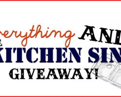 Everything and the Kitchen Sink Giveaway2 copy
