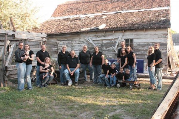 Kmetzsch Family 2010