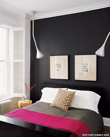 Remodelaholic best paint colors for your home black - Black painted bedroom walls ...