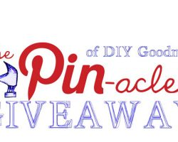 Pinacle of goodness giveaway