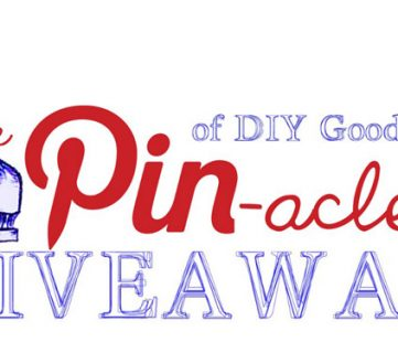 The Pin-acle of Goodness Giveaway