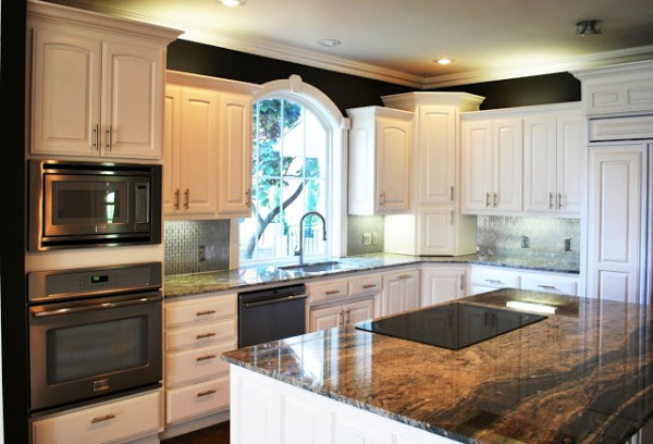 Remodelaholic best paint colors for your home black for Best brand of paint for kitchen cabinets with x ray wall art