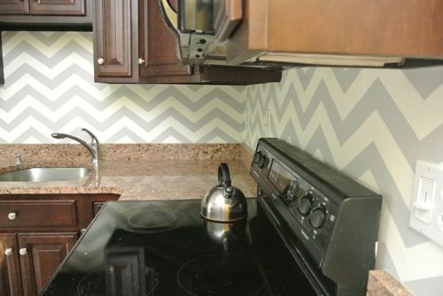 25 great ways to use chevron stripes