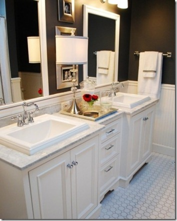 Trend double vanity house