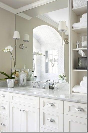Best shelf on vanity top