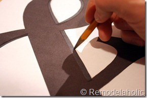 3 ampersand cutout tutorial