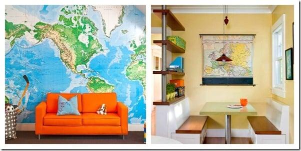 Nautical Map Wallpaper Tutorial