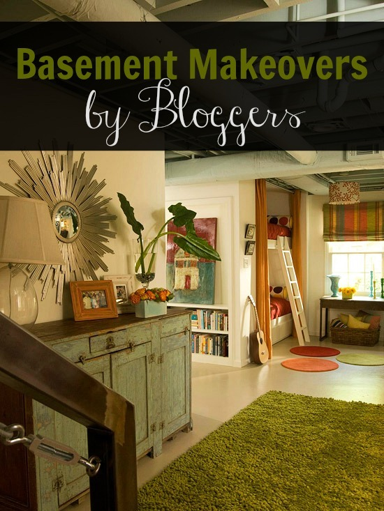Remodelaholic Home Sweet Home On A Budget Bloggers Finish Their Basements