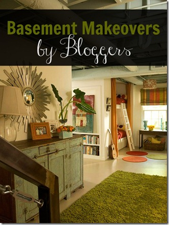 Basement Makeover pin pic