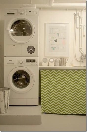 Chez Larsson basement laundry after