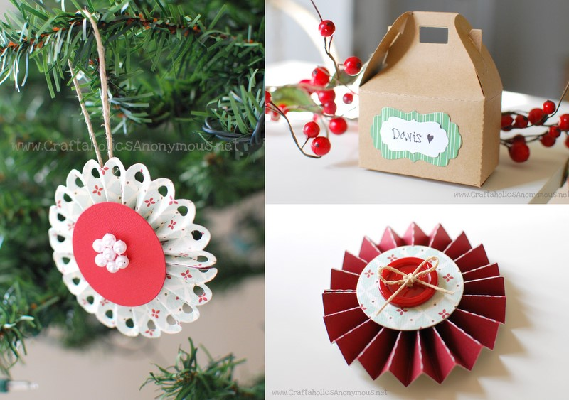 Lollipop | Craftaholics Anonymous. Paper Snowflake | Remodelaholic