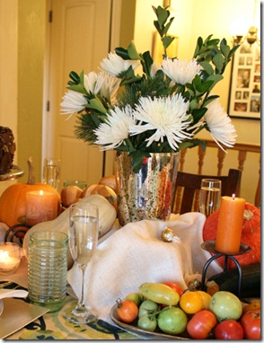 Fall Bounty tablescape Thanksgiving Table setting (4)