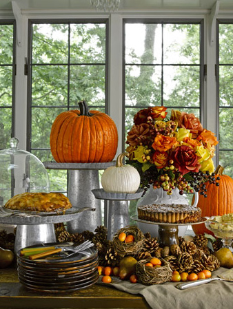 Remodelaholic 25 best fall tablescapes - Thanksgiving table decorating ideas ...