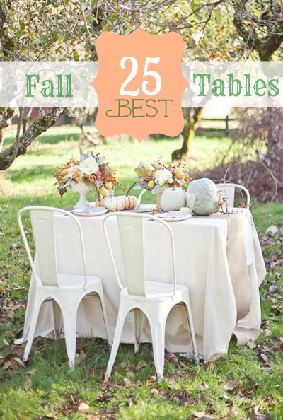 Fall Tablescapes Pin