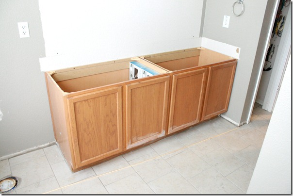 how to raise a bathroom vanity cabinet remodelaholic how to raise up a vanity 17271