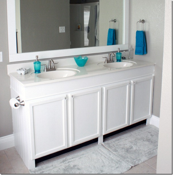 Nice How to Add height to a short bathroom vanity