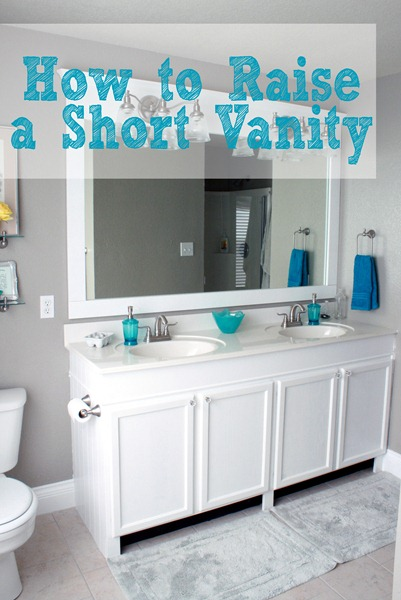 Good How to Raise a Short vanity without buying a new one