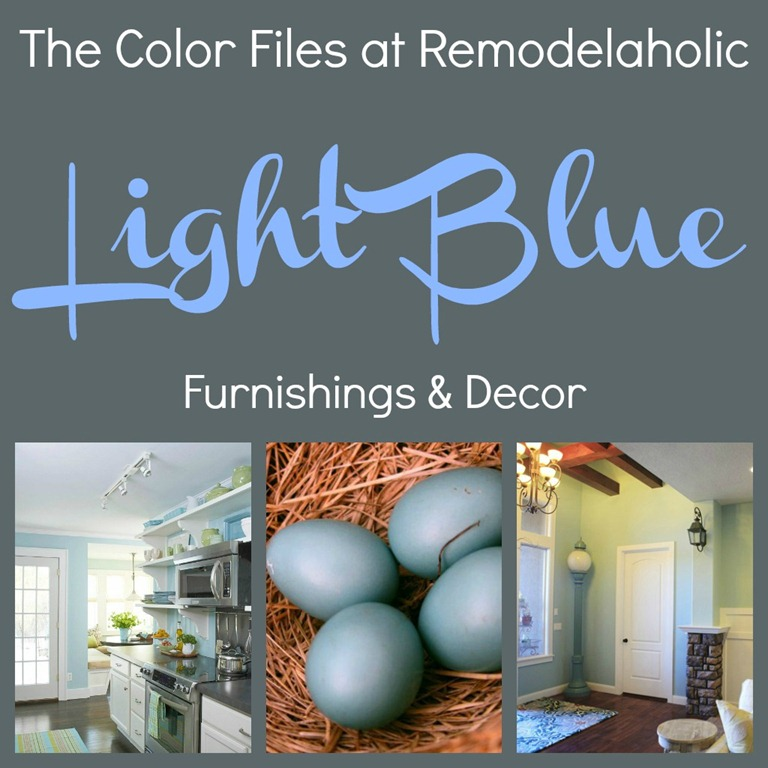 Remodelaholic | Best Paint Colors for Your Home: LIGHT BLUES
