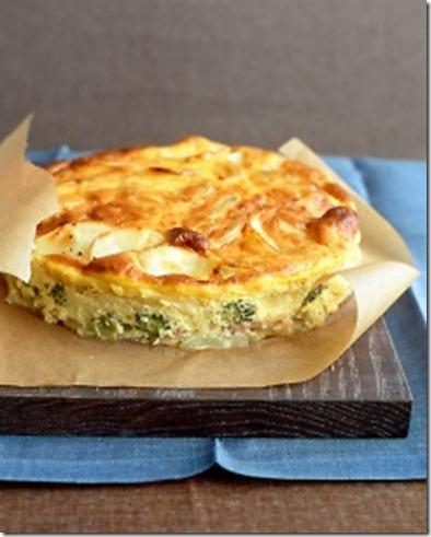 Martha Stewart ham and potato bake
