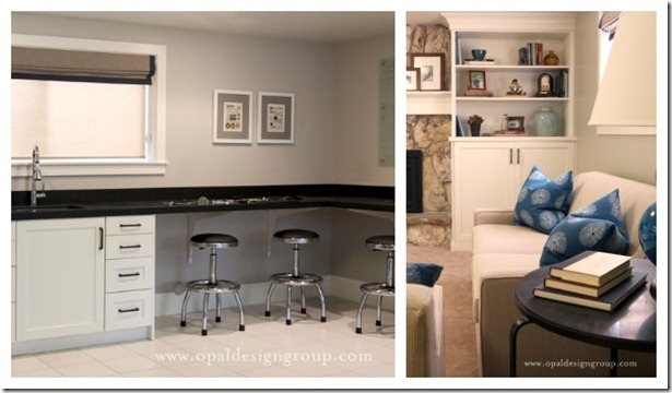 Remodelaholic | Home Sweet Home on a Budget Bloggersu0027 Basement Rec Rooms & Remodelaholic | Home Sweet Home on a Budget: Bloggersu0027 Basement Rec ...
