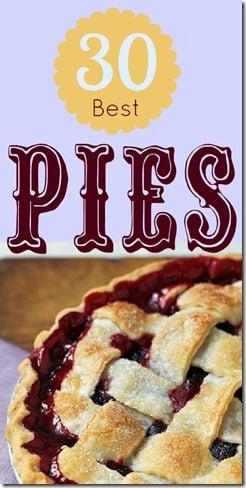 30 Best Pies | @Remodelaholic #pies #desserts