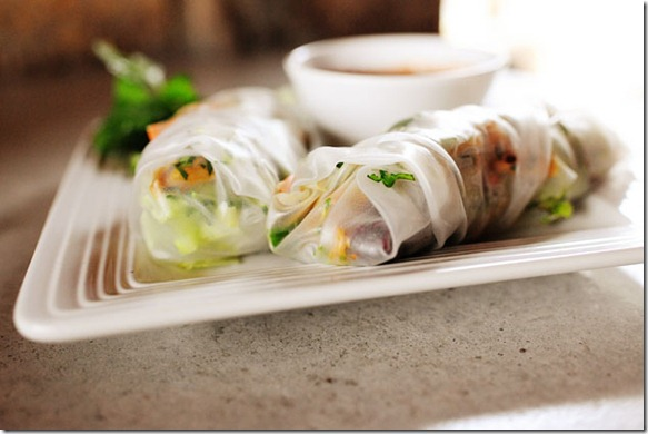 Pioneer Woman turkey springrolls
