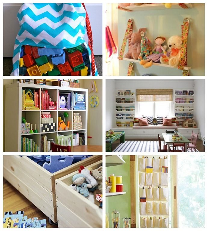 Remodelaholic | An Organized Playroom