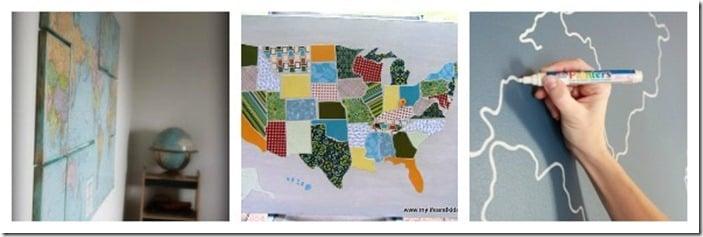 Remodelaholic Mapspiration Collage