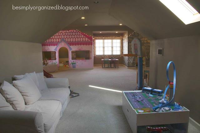 Remodelaholic an organized playroom for Playroom floor ideas
