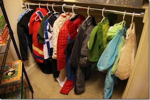Simply Organized dress ups