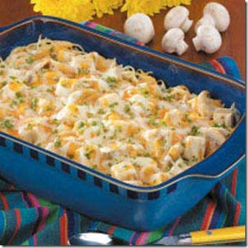 Taste of Home Turkey Tetrazzini