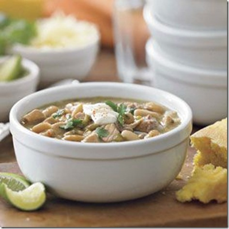 Williams Sonoma White Turkey Chili