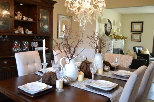 remodelaholic | 25 best fall tablescapes