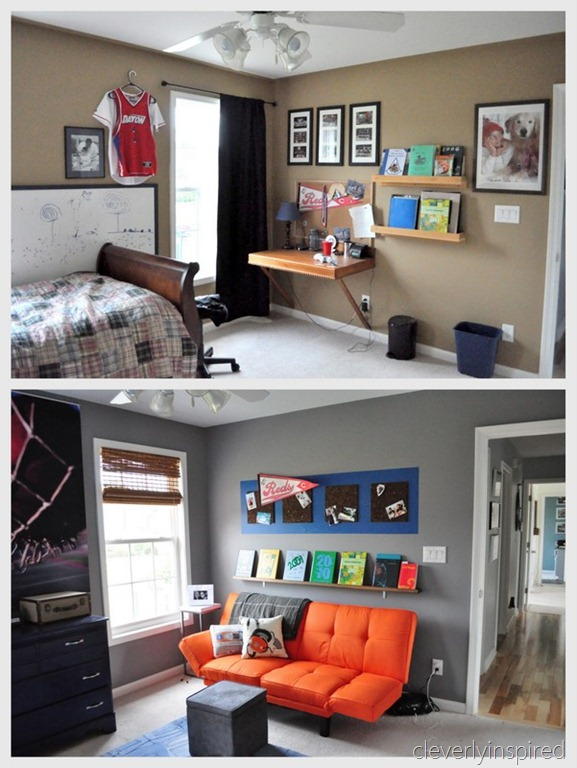 Remodelaholic | A Colorful Teen Boy Room