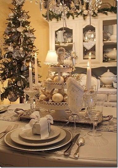 style estate white tablescape