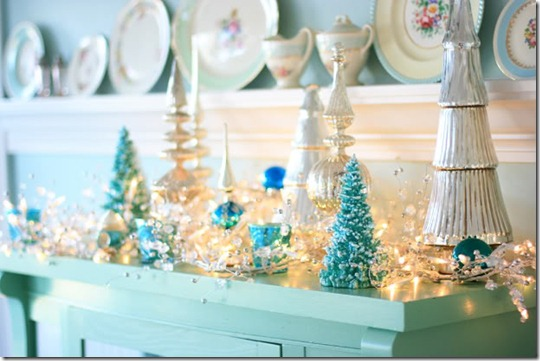 the meadow brook blog blue mantel