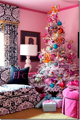 tobi Fairley Pink Christmas tree