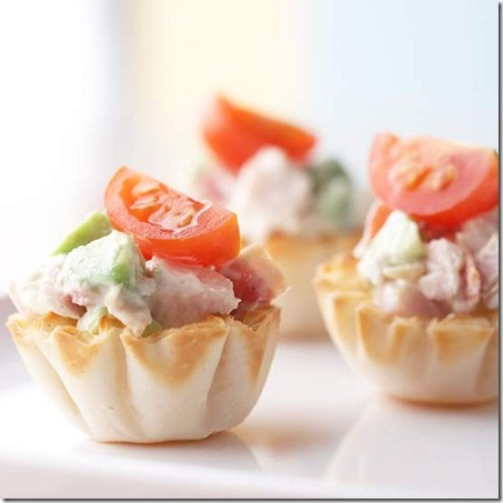 BHG Turkey Salad Tartletts