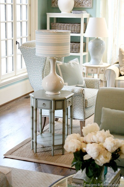 remodelaholic catalog crashing with ballard designs orb chandelier living room contemporary living room