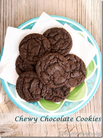 Chewy Chocolate cookies 1