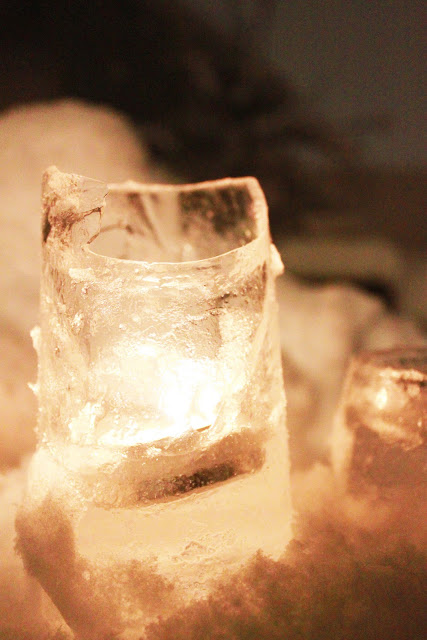 Creative Juices ice candle holders